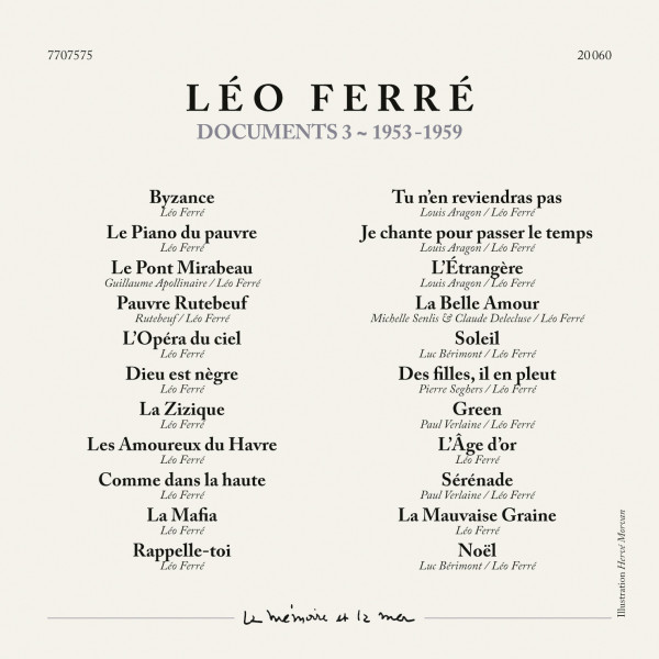 Léo Ferré La Vie Moderne Intégrale 1944 1959